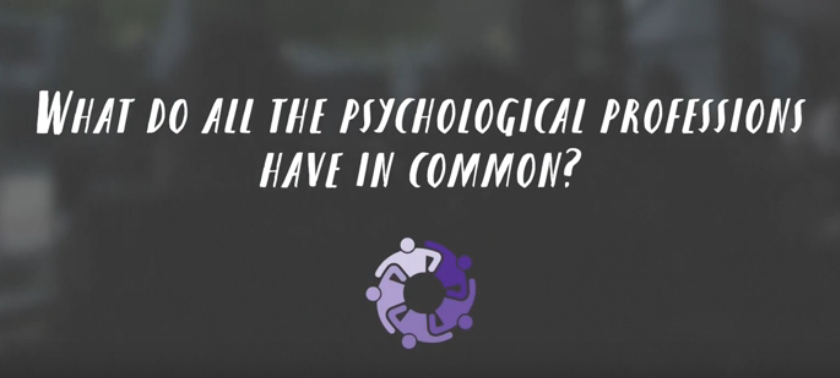 What do the psychological professions have in common?