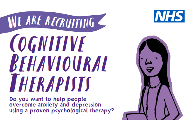 Recruiting Cognitive Behavioural Therapists